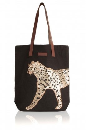 Becksöndergaard |  Bag Leo Canvas | black/gold