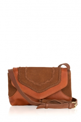Becksöndergaard |  Shoulderbag Colonna | brown