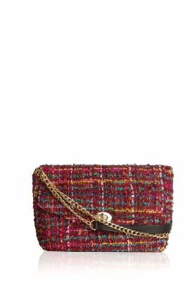 Becksöndergaard |  Boucle shoulder bag Fancy | red