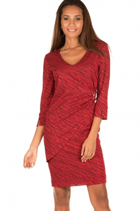 Ana Alcazar |  Dress Celeste | red