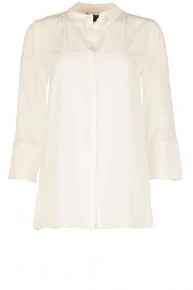 Tara Jarmon | Zijden blouse Siera | wit