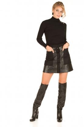 Tara Jarmon | Button-up rok Samantha | zwart