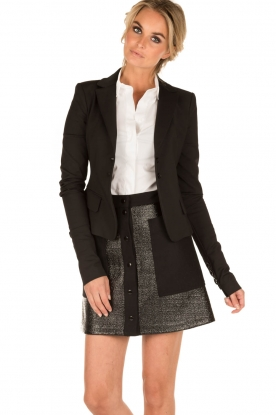 Tara Jarmon |  Button up skirt Samantha | black