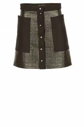 Tara Jarmon | Button-up rok Samantha | zwart