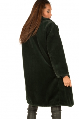 Tara Jarmon | Faux fur jas Canard | groen
