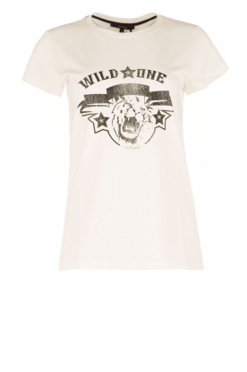 NIKKIE | T-shirt Wild One | wit
