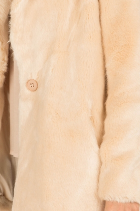 Dante 6 | Faux fur jas Liv | naturel