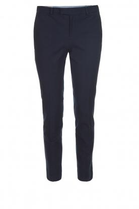 Leon & Harper | Pantalon Palmora | blauw