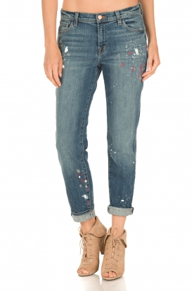 J brand | Mid-rise boyfit jeans Johnny | peace