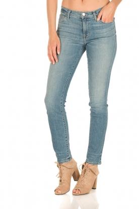 J brand   Mid-rise Skinny Leg   adventure blauw