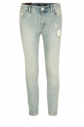 J brand |  Low waist skinny cropped | light blue
