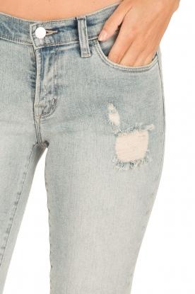 J brand | Low waist skinny cropped | lichtblauw