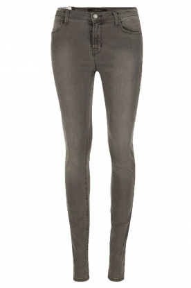 J brand |  Mid-rise skinny Night Bird | dark grey
