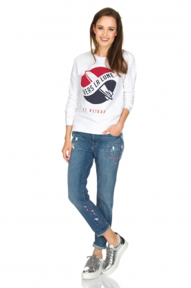 Zoe Karssen | Sweater Lune | wit