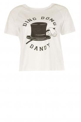 Zoe Karssen | T-shirt Ding Dong Dandy | white