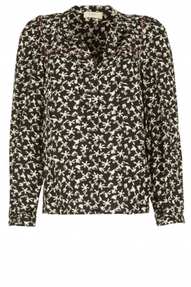 ba&sh | Blouse Collin | zwart