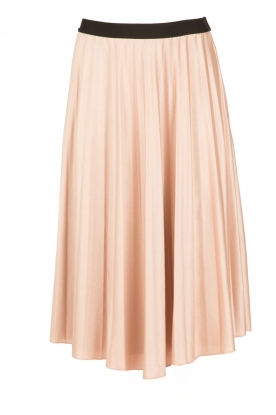 Essentiel Antwerp |  Pleated skirt Oncing | nude