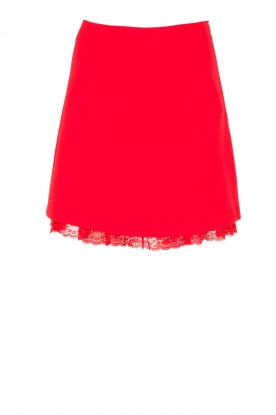Essentiel Antwerp |  Skirt Ololight | red
