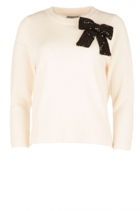 Essentiel Antwerp |  Woolen sweater Oyez | white