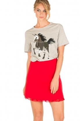 Essentiel Antwerp | T-shirt Omylord | grijs