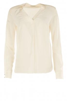 IKKS | Zijden blouse Sil | wit