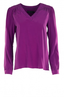 Alice & Trixie |  Silk top Rooney | purple