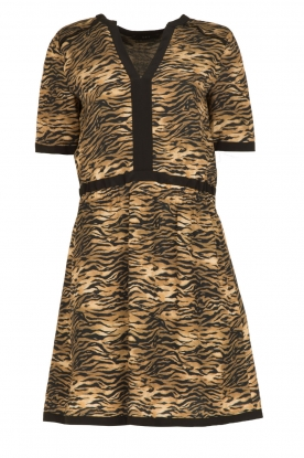 Set |  Animal print dress Della | animal print