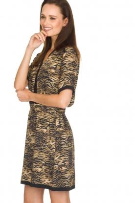 Set | Dierenprint jurk Della | dierenprint