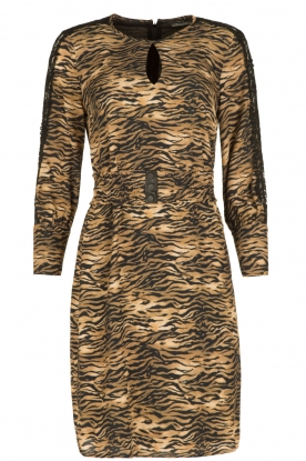 Set |  Animal print dress Delmira | animal print