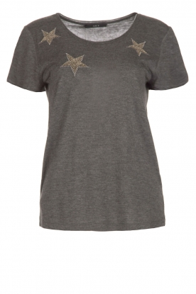 Set | T-shirt Benthe | grijs