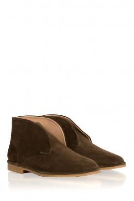 Maluo | Leren schoenen Dali | groen