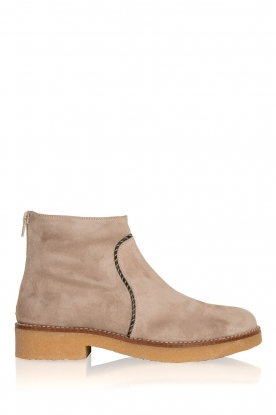 Maluo |  Suede ankle boots Playa | grey