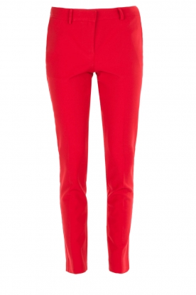 Atos Lombardini |  Trousers Brandy | red