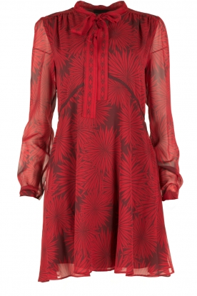 Atos Lombardini |  Silk dress Reddy | red
