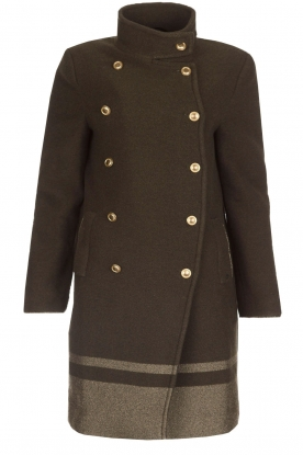MASONS |  Woollen coat Marsilliana | green