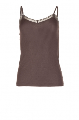 Hanro |  Top Charisa | grey