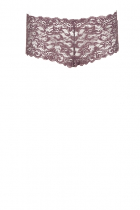 Hanro |  Lace hipster Moments | purple
