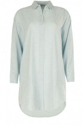 Mes Demoiselles |  Tunic blouse Chambers | blue
