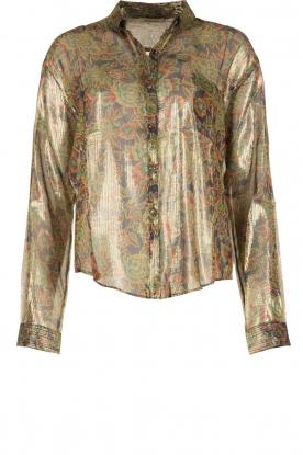 Mes Demoiselles | Zijden blouse Cerisier | multi