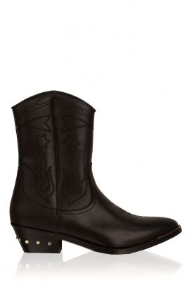 Catarina Martins |  Leather boots Abby | black