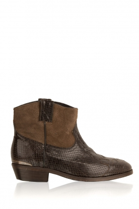 Catarina Martins |  Ankle boots Olsen | brown