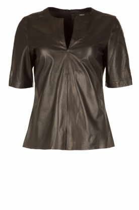 Arma |  Leather top Bacal | black