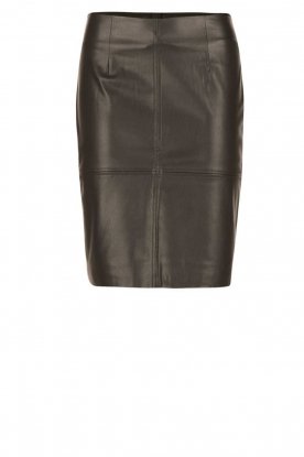 Dante 6 |  faux leather pencilskirt Toortsie | black