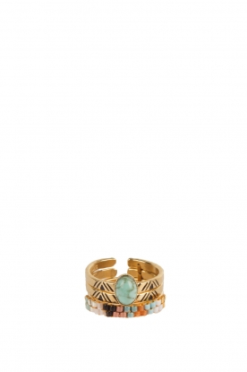 Satellite Paris | Bohemien ringen | blauw