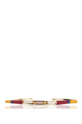 Satellite Paris | 14k verguld gouden armband Tanarive | goud