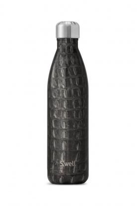 S'well Bottle | Thermosfles warm/koud Crocodile 500 ml | zwart