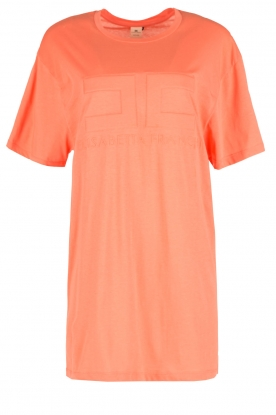 ELISABETTA FRANCHI | Sport T-shirt Bree | oranje