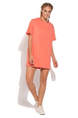 ELISABETTA FRANCHI   Sport T-shirt jurk Bree   oranje