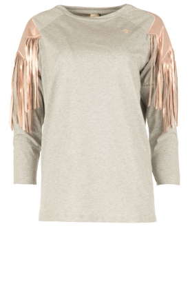 ELISABETTA FRANCHI |  Sport top Shine | grey