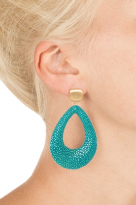 Miccy's | Stingray Drops | turquoise